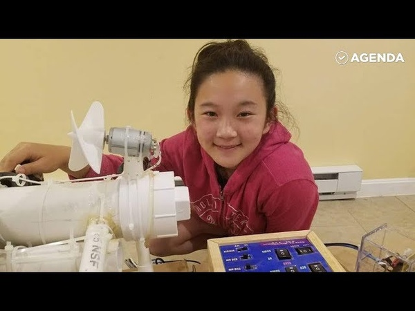 Девочка из США создала роборта-эколога