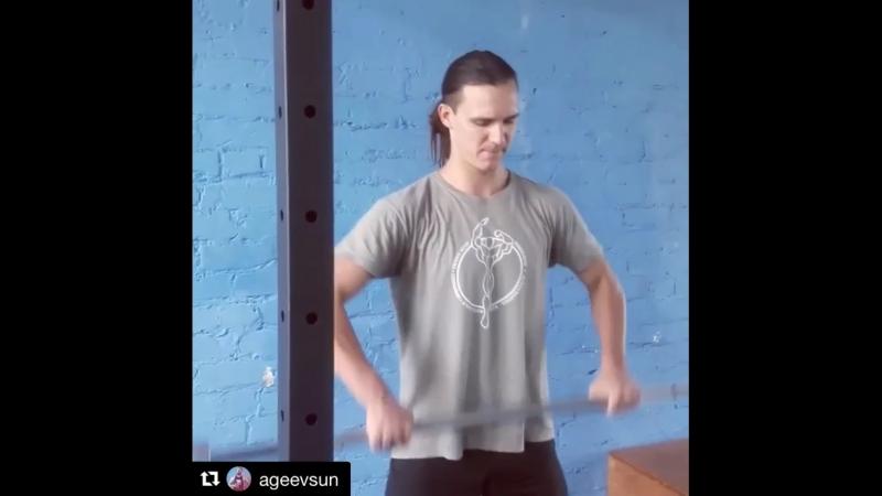 Тренировка у Агеева