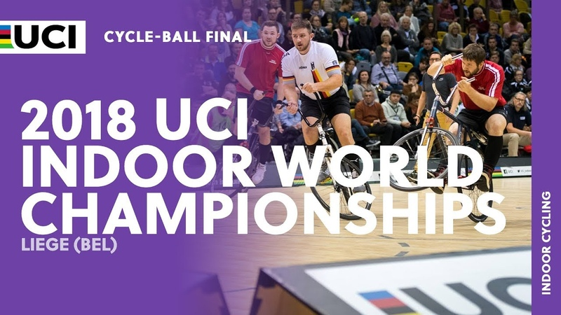 2018 UCI Indoor Cycling World Championships - Liège (BEL) Cycle-ball Final