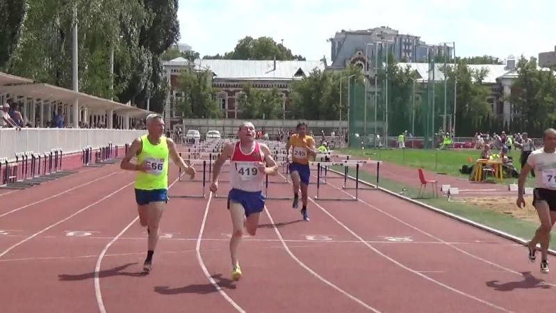 80.100. 110 м. с барьерами на ЧР по ла среди ветеранов 3 - 5 августа 2018 г. в г. Москва.