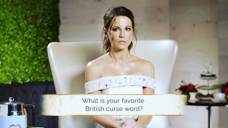 """Kate Beckinsale on Instagram: """"I won't rest until every American home has a stylish kettle and people are lovingly calling each other a knob myrus..."""