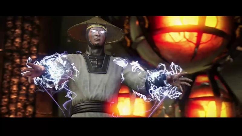 Mortal Kombat X Рейден vs Бо Рай Чо