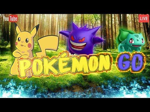 Stream.Пройдёмся по как можно большему числу покестопов и гемов. БОНДЖИ играет в Pokémon GO.