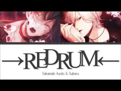 Ayato Subaru - →REDRUM← (Color Coded KAN|ROM|ENG Lyrics)