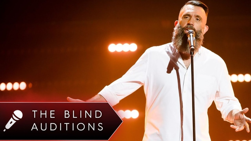 Blind Audition Colin Lillie 'Father and Son' The Voice Australia 2018