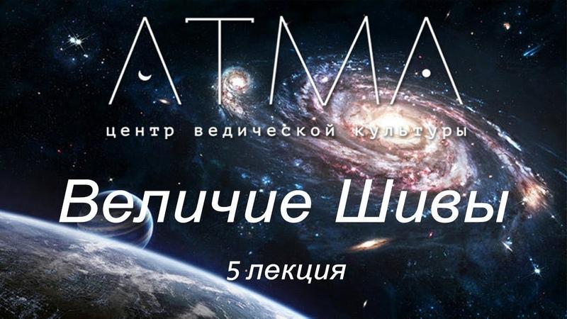 Величие Шивы. Лекция 5 - Вселенная – живой организм. Атма Сваруп (Алексей Мередов)