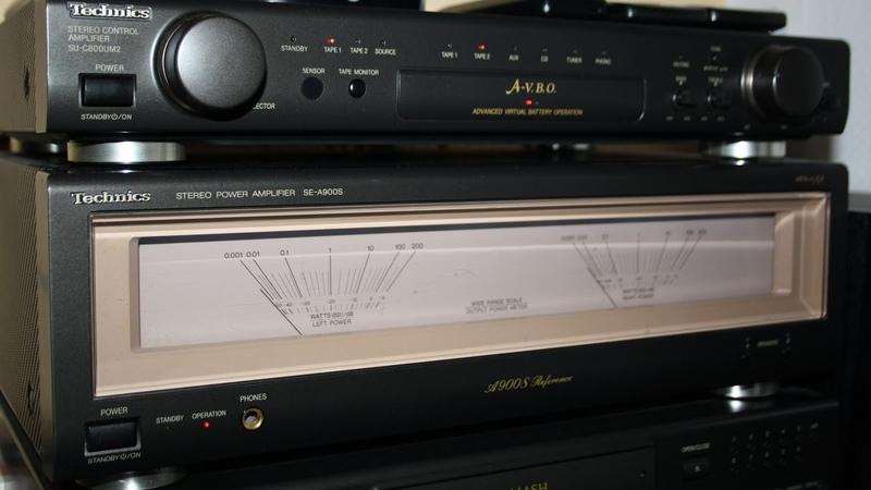 Technics SE-A900S Power Amplifier końcówka mocy wzmacniacz kolekcjonerski HI-FI MOS CLASS AA mk2