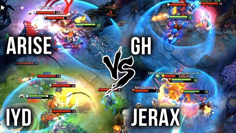 Best Players on EPIC Magnus Battle - Ar1Se- vs inYourdreaM vs GH vs JerAx