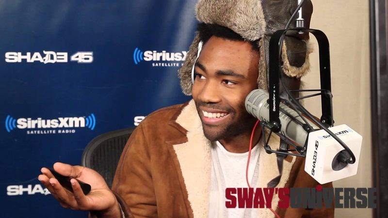 Childish Gambino Spits Dope Freestyle Over Drakes Pound Cake on Sway in the Morning