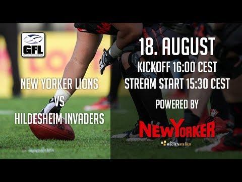 New Yorker Lions vs Hildesheim Invaders