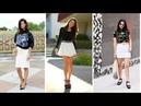 FALDAS BLANCAS CORTAS 👗 ¡15 Fenomenales Modelos Moda Fashion Faldas