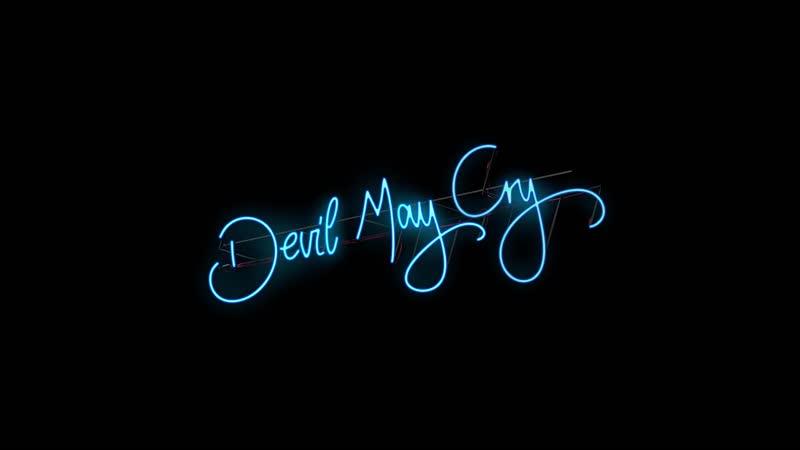 Devil May Cry 5 Neon Sign/Loading Screen - GDC Demo/Nico's Van