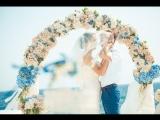 Свадьба на Кипре на площадке Белые камни Алексея и Натальи