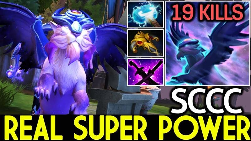 SCCC [Mirana] Real Super Power Solo Mid 19 Kills 7.19 Dota 2