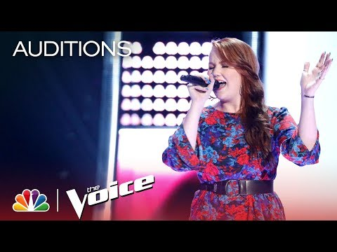 The Voice 2018 Blind Audition - Hannah Goebel If I Aint Got You