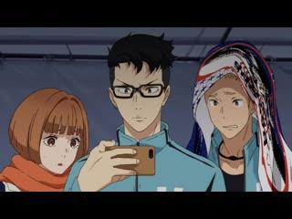 Kaze ga Tsuyoku Fuiteiru / Почувствуй Ветер - 20 серия | Anzen, Hekomi & Sharon [AniLibria.Tv]