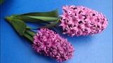 Quilling Hyacinth Flower Tutorial DIY Paper Hyacinth Flower Home Decor