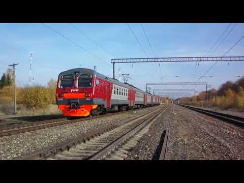 Золотая осень на БМО в Сотниково и поезд на Куровскую