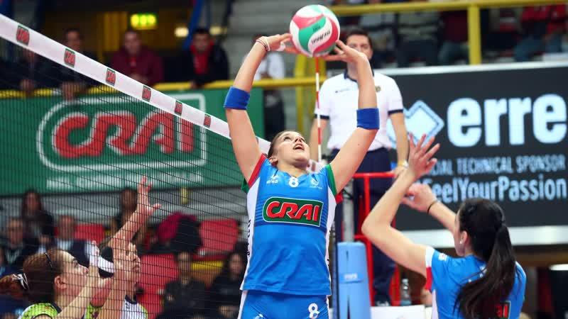 Волейбол. Кунео - Монца Серия А 18/19. Женщины 17 ноября 22.30
