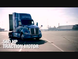 Hydrogen Fuel Cell Electric Kenworth T680.mp4