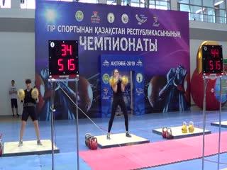 Весовая категория 63 кг - Литвинова Яна