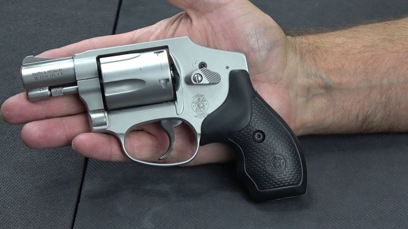 SW 642 Airweight: Small 38 Special P pocket revolver