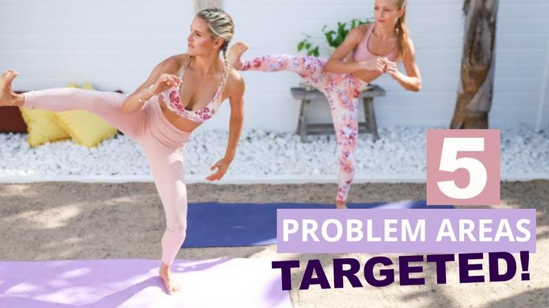 5 проблемных зон Лучшие упражнения для тонуса самых упрямых проблемных зон 5 Problem Areas TARGETED Best Workout Moves for STUBBORN areas Rebecca Louise