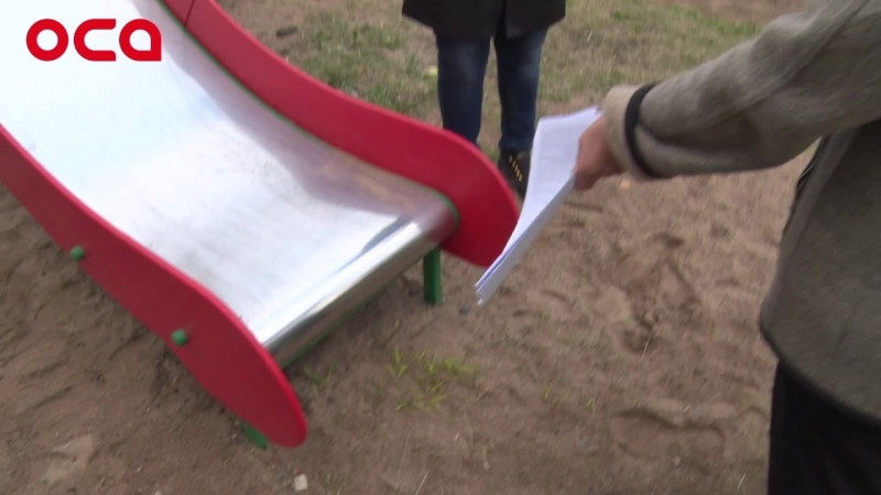Детская площадка-убийца появилась в Ачинске
