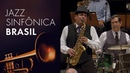 Maestro Spok e o baterista Adelson da Silva Jazz Sinfônica Brasil