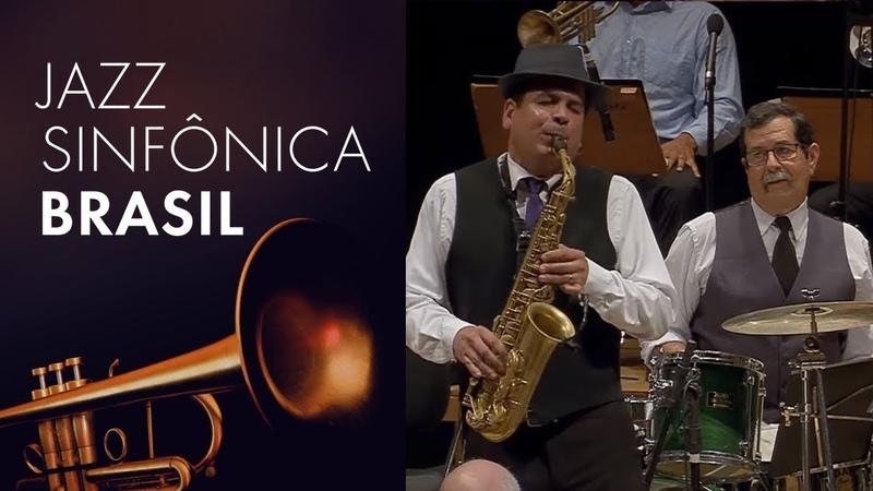 Maestro Spok e o baterista Adelson da Silva | Jazz Sinfônica Brasil