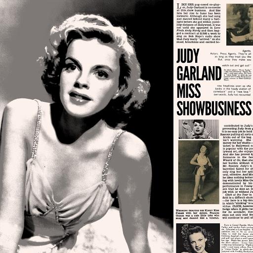 Judy Garland альбом Judy Garland - Miss Showbusiness