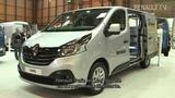 New Renault Trafic at the Birmingham CV show