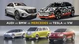 So wollen deutsche Autohersteller Tesla trotzen Audi, BMW, Daimler &amp VW
