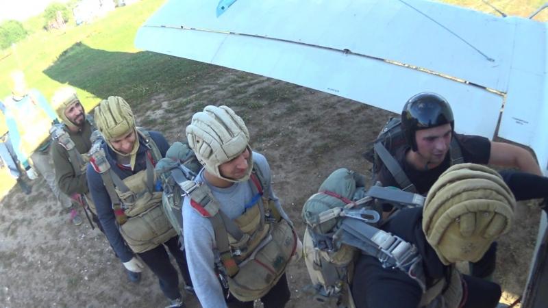 Прыжок с парашютом 15.09.18