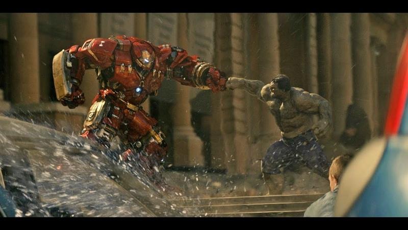 Халк против Халкбастера l Мстители Эра Альтрона l Халк против железного человека
