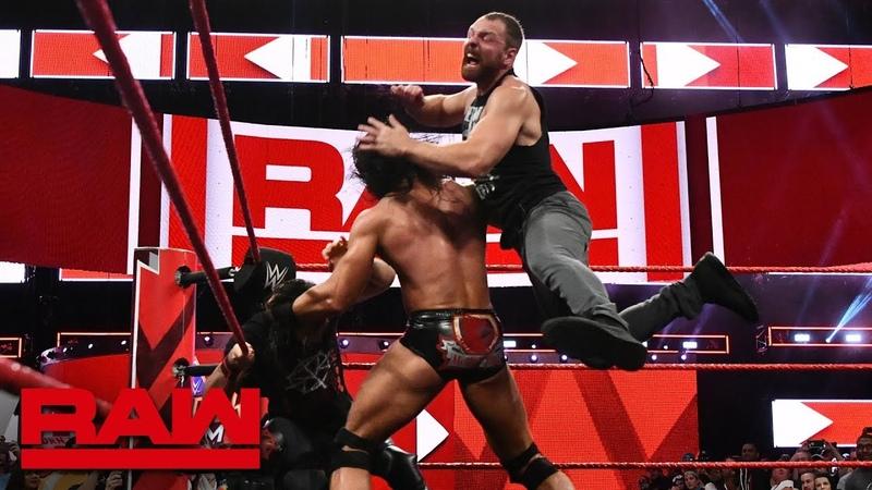Dean Ambrose returns before SummerSlam Raw, Aug. 13, 2018