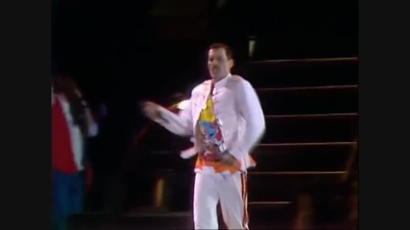 Queen Now I'm Here London Live at Wembley Stadium 11 07 1986