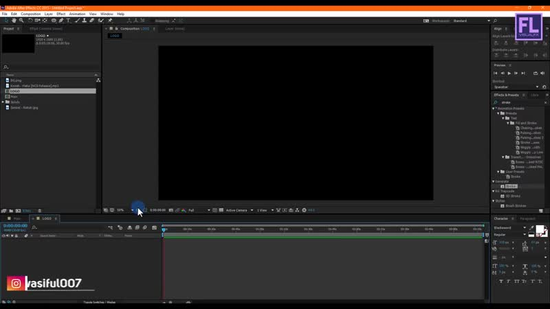 After Effects Tutorial Audio Spectrum Effect in After Effects Free Download No Plugin