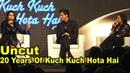 UNCUT - 20 years Of Kuch Kuch Hota Hai GRAND Celebration Shahrukh Khan, Salman Khan, Kajol