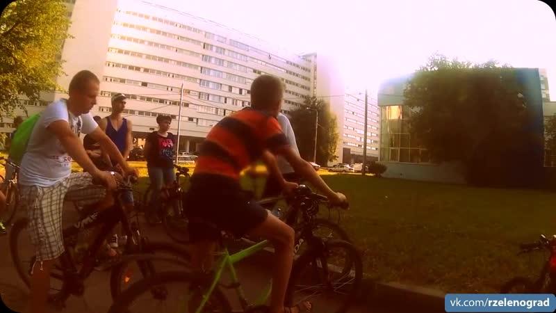 Велоэкскурсия по старому Зеленограду