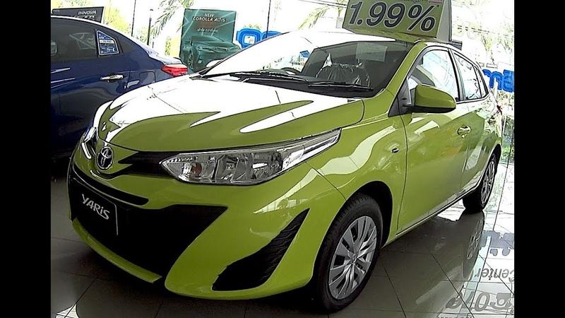 2018 Toyota Yaris affordable Hatchback facelift