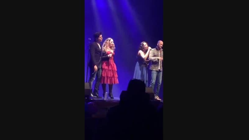 Laurent Ban, Chiara Di Bari, Nadia Bel, Roland Karl (Le Mail Scène Culturelle, 7.12.2018)