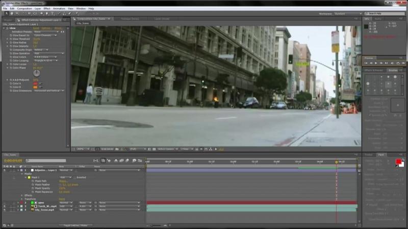 [Slem Channel] Как добавить эффект огня дыма и свет от огня с помощью Adobe After Effects