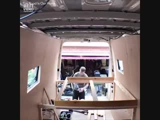 Дом на колесах своими руками