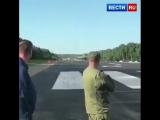 Несколько самолётов в рамках учений сели на трассу в Хабаровском крае