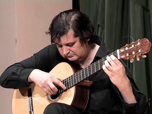 Томский гитарист Алексей Зимаков. А.Баццини Хоровод гномов