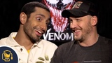 Watch Tom Hardy and Riz Ahmed Have Too Much Fun Talking About Venom