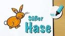 Wie malt man einen Hasen/ein Kaninchen (Ach, wie süß!) - How to draw a Rabbit/Bunny (Cartoon)