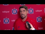 Safe to say Chicago Fire coach Veljko Paunovic was not in a great mood