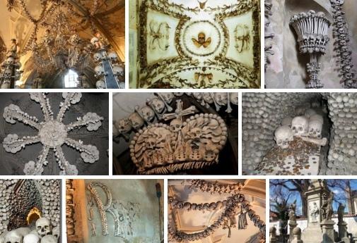 ХРАМ ИЗ КОСТЕЙ: ЗАГАДКА МИРА Одной из самых жутких загадок мира является Костница (церковь на костях). Она находится в Чехии и сооружена из человеческих костей. Костница расположена на окраине
